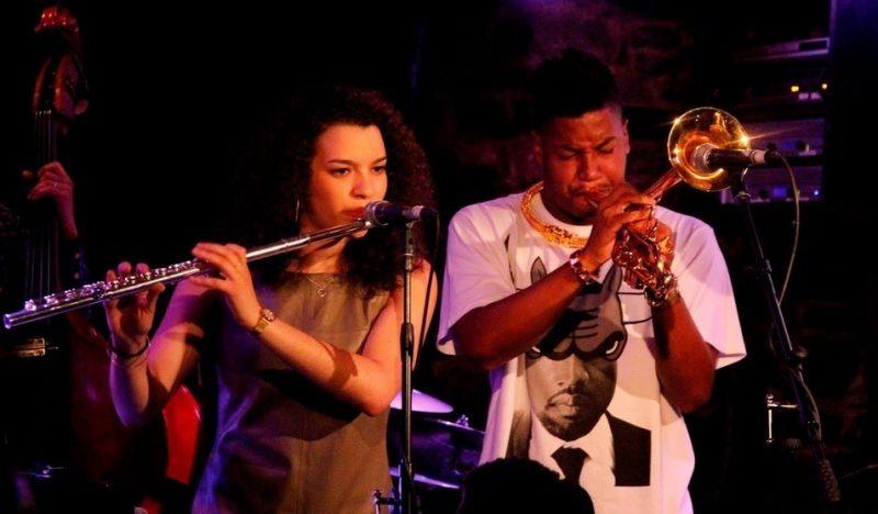 Elena Ayodele Pinderhughes and Christian Scott, Montreal Jazz Festival 2015