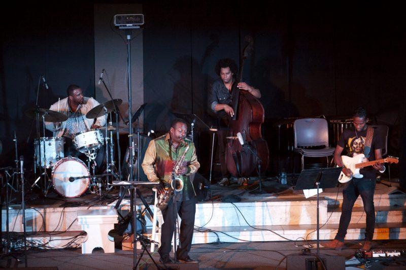 David Murray with Class Struggle Trio, Vision Festival, NYC, 2015