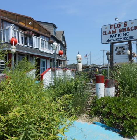 Flo's Clam Shack in Newport, RI