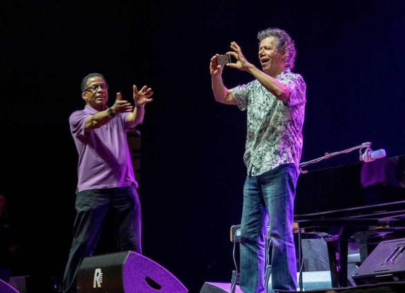 Herbie Hancock and Chick Corea, Umbria Jazz Festival 2015