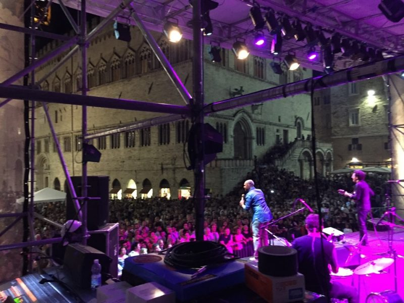 Diogo Nogueira, Thiago de Serrinha, Hamilton de Holanda, Umbria Jazz Festival 2015