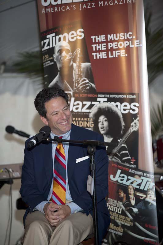 John Pizzarelli at Nat King Cole panel