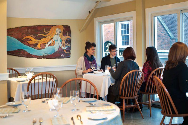 Fluke Wine Bar in Newport, RI