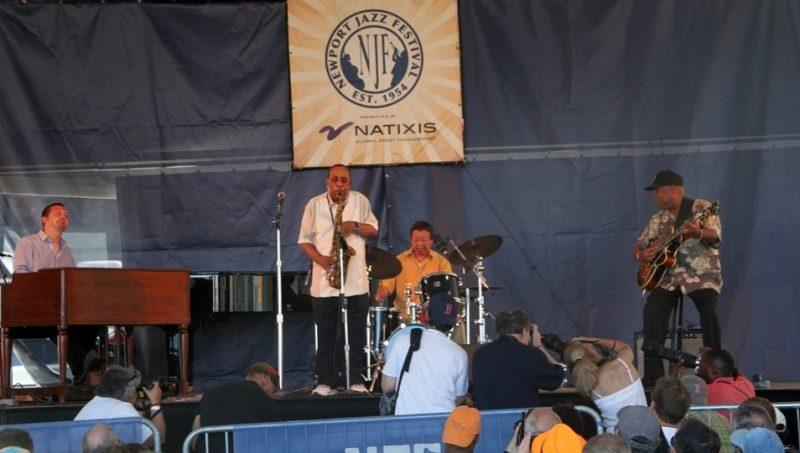 Lou Donaldson Quartet, Newport Jazz Festival 2015