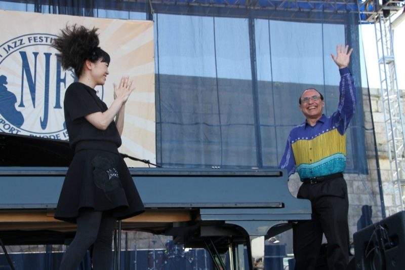 Hiromi and Michel Camilo, Newport Jazz Festival 2015