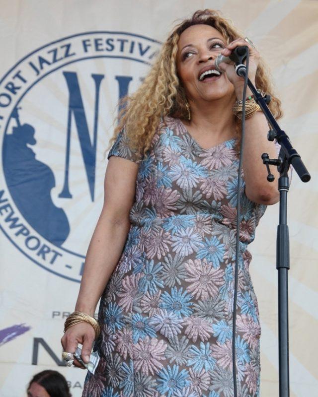 Cassandra Wilson brought her Billie Holiday centennial tribute to the 2015 Newport Jazz Festival