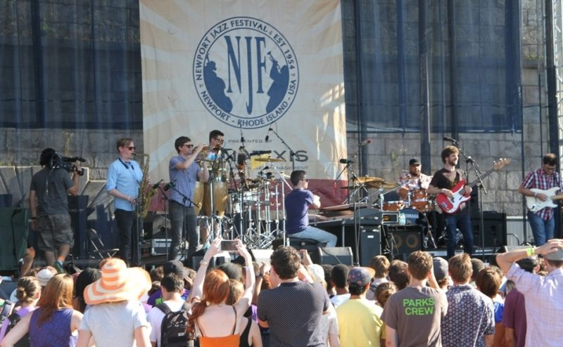Snarky Puppy at the 2015 Newport Jazz Festival
