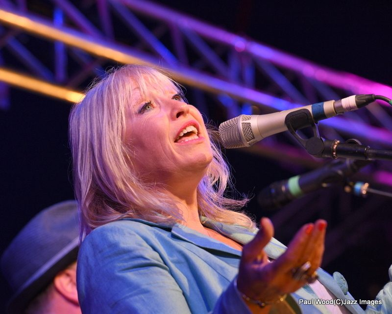 Tina May in performance at the 2015 Ealing Jazz Festival