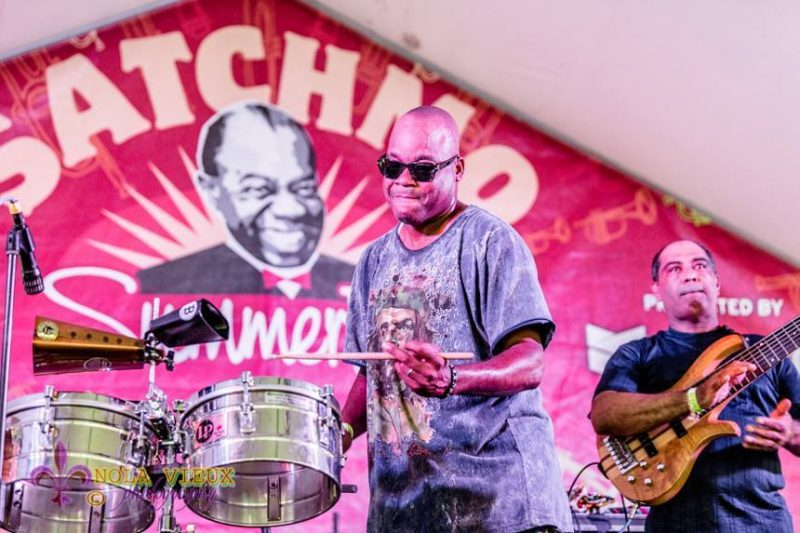 James Andrews, Satchmo Summerfest, New Orleans, 2015. Photo courtesy of French Quarter Festivals, Inc.