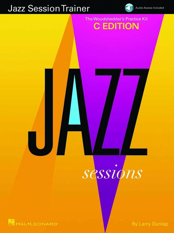 """Jazz Session Trainer"" book from Hal Leonard"
