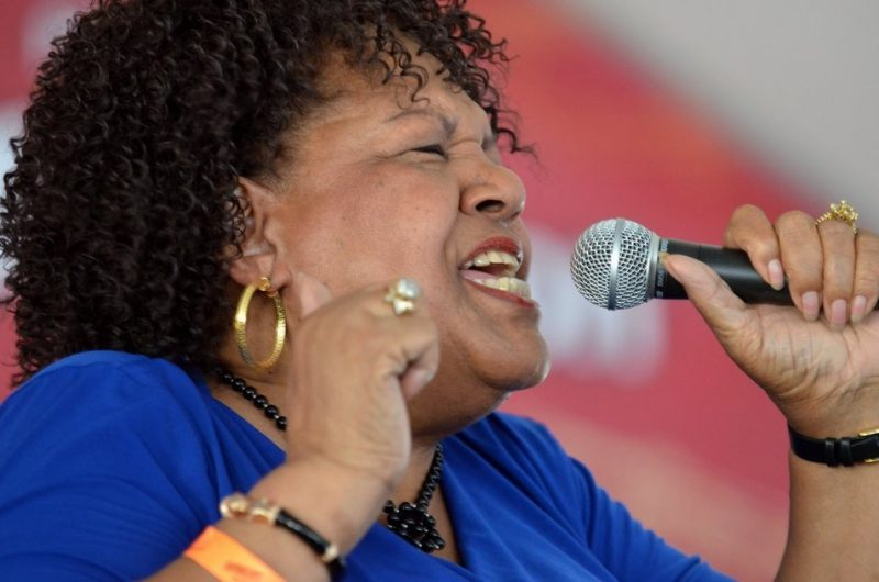 Jewel Brown, Satchmo Summerfest, New Orleans, 2015. Photo courtesy of French Quarter Festivals, Inc.