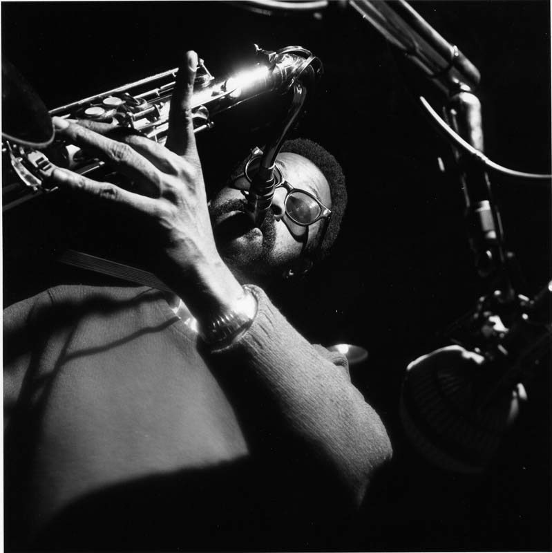 """Joe Henderson at the session for McCoy Tyner's """"The Real McCoy,"""" April 1967"""