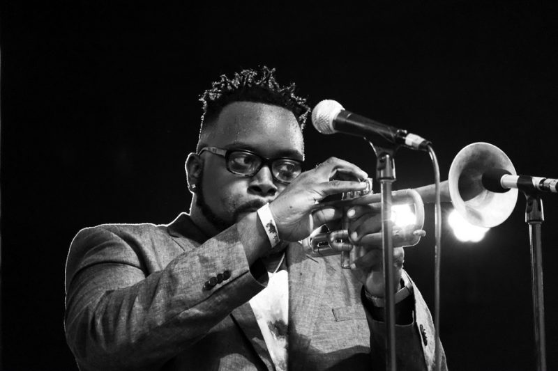 Marquis Hill, Chicago Jazz Festival, 2015