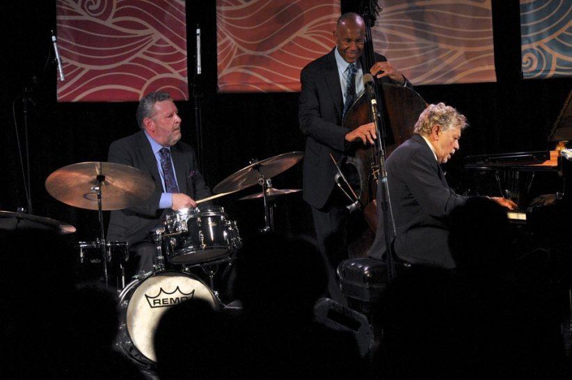 Jeff Hamilton, John Clayton and Monty Alexander