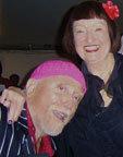 Mark Murphy and Sheila Jordan, 2008. Photo courtesy of Mark Murphy