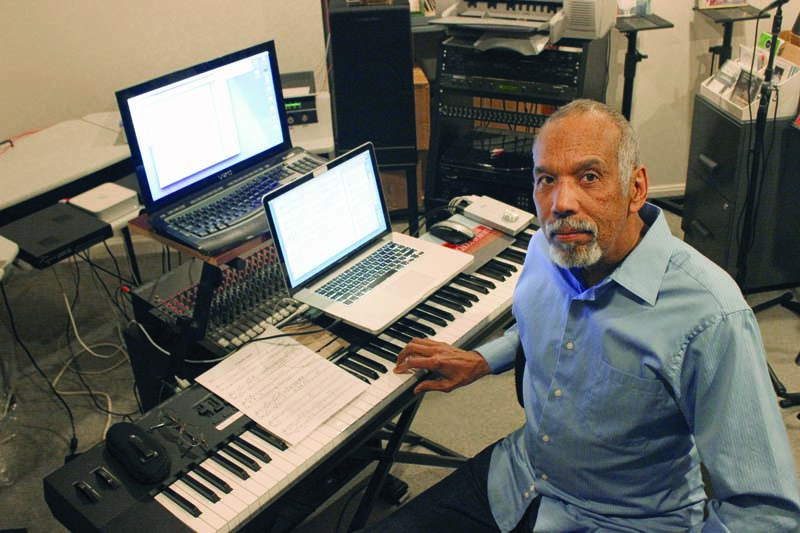 Stanley Cowell at home