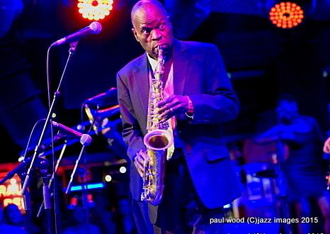 Maceo Parker, London Jazz Festival, Nov. 2015