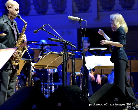 Maria Schneider, London Jazz Festival, Nov. 2015