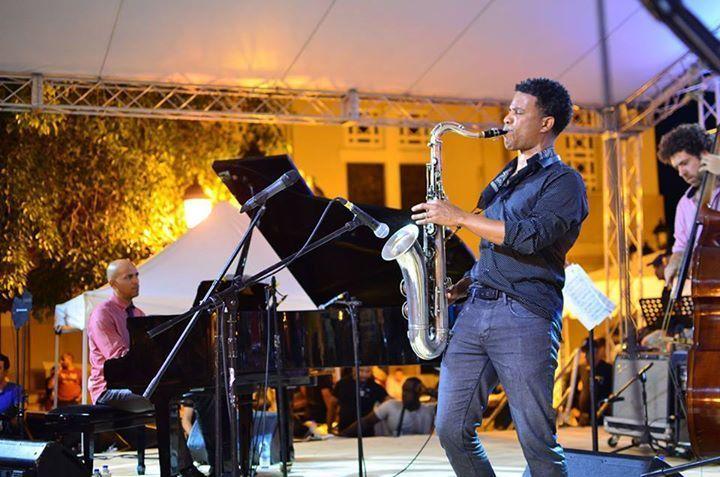 David Sánchez plays in Puerto Plata, Dominican Republic Jazz Festival Nov. 2015