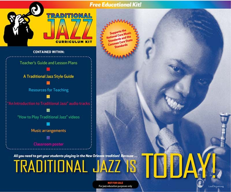 JEN Traditional Jazz Curriculum Kit
