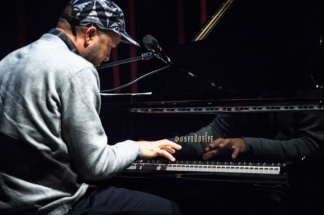 Jason Moran performs at Cecil Taylor- From The Five Spot To The World, Harlem Stage, Nov. 2015