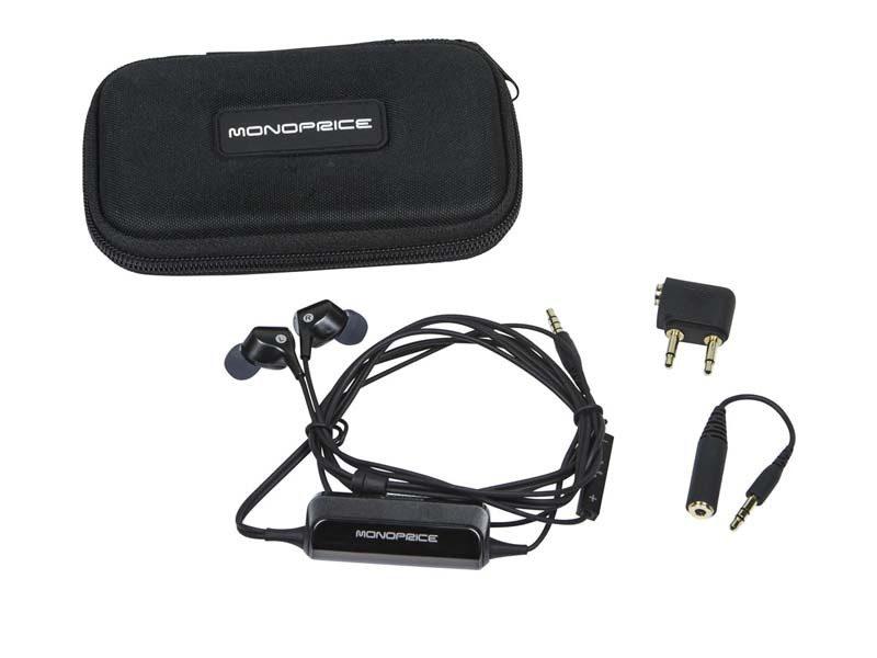 Monoprice model 10799 in-ear headphones