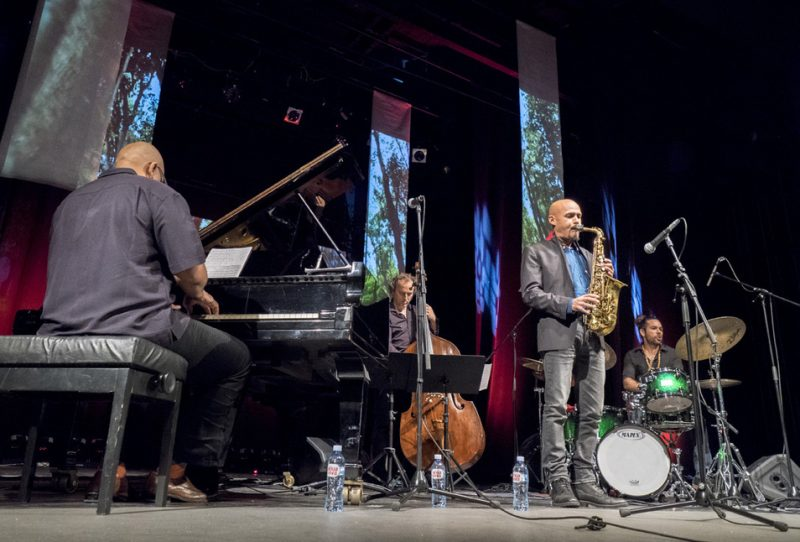 Luis Perdomo, Hans Glawischnig, Miguel Zenón, Henry Cole, Belgrade Jazz Festival, 2015