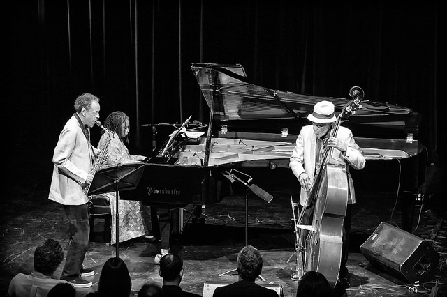 Henry Threadgill, Geri Allen and Henry Grimes perform at Cecil Taylor- From The Five Spot To The World, Harlem Stage, Nov. 2015