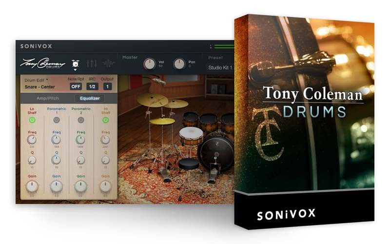 SONiVOX Tony Coleman Drums sound library