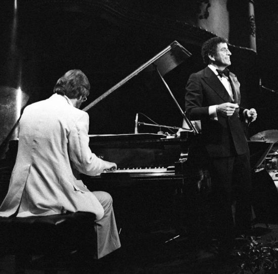Tony Bennett and pianist Bill Evans in 1978  image 0