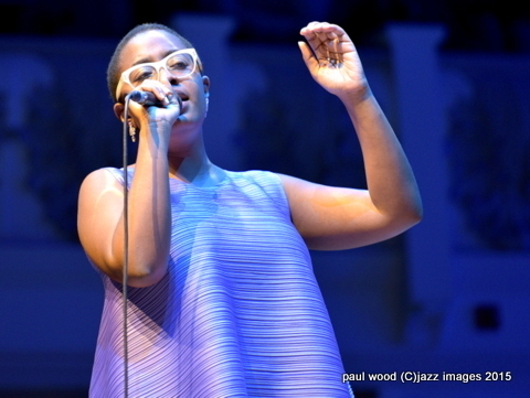 Cecile McLorin Salvant, London Jazz Festival, Nov. 2015