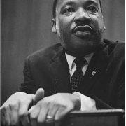 Dr. Martin Luther King, Jr. from 1964 Berlin Jazz Festival Program