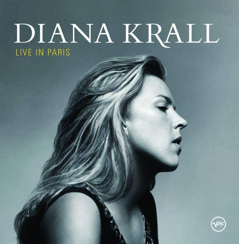 """Diana Krall's """"Live in Paris"""" album"""