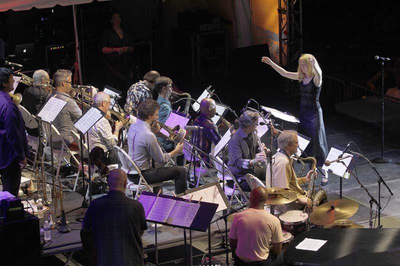 Maria Schneider Orchestra at the 2015 Detroit Jazz Festival