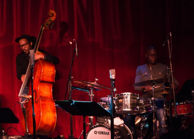 Joe Sanders, Greg Hutchinson: Monterey Jazz Festival on Tour, Birdland, NYC Feb. 2016