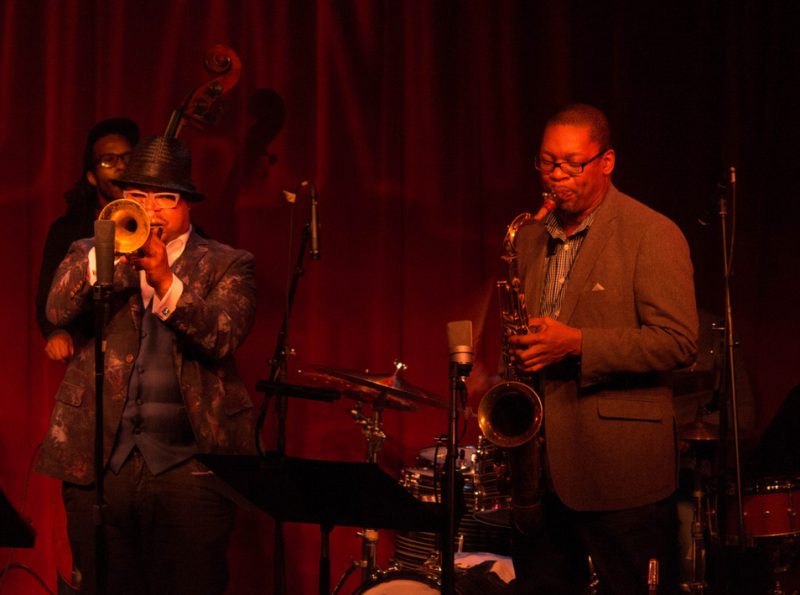 Joe Sanders, Nicholas Payton, Ravi Coltrane: Monterey Jazz Festival on Tour, Birdland, NYC Feb. 2016