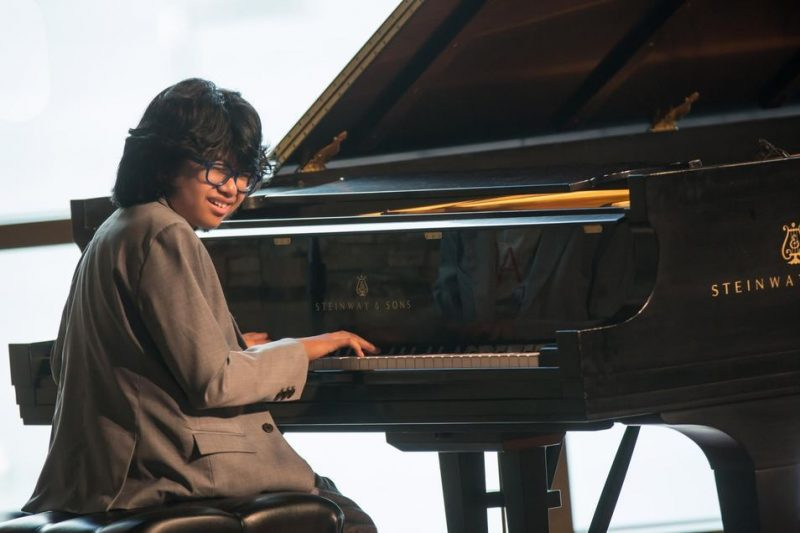 Joey Alexander performs at the 2015 Rockport Jazz Festival