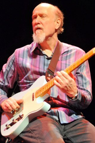 John Scofield in performance at the Barbican Centre in London