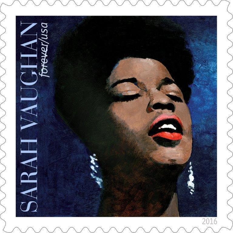 Sarah Vaughan U.S. postage stamp