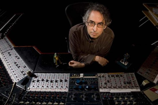 Producer and engineer Steve Rosenthal, owner of the Magic Shop in New York City image 0