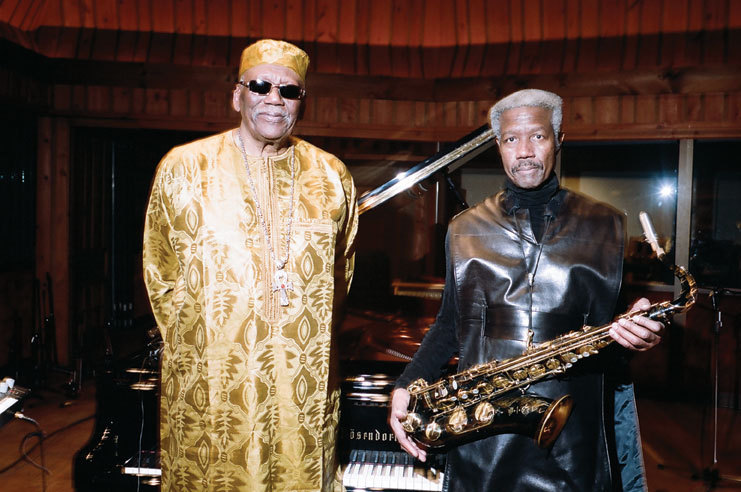 Randy Weston (l.) and Billy Harper