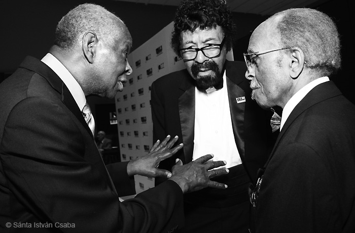 Muhal Richard Abrams, David Baker and Jimmy Heath at the 2013 NEA Jazz Masters ceremony in NYC