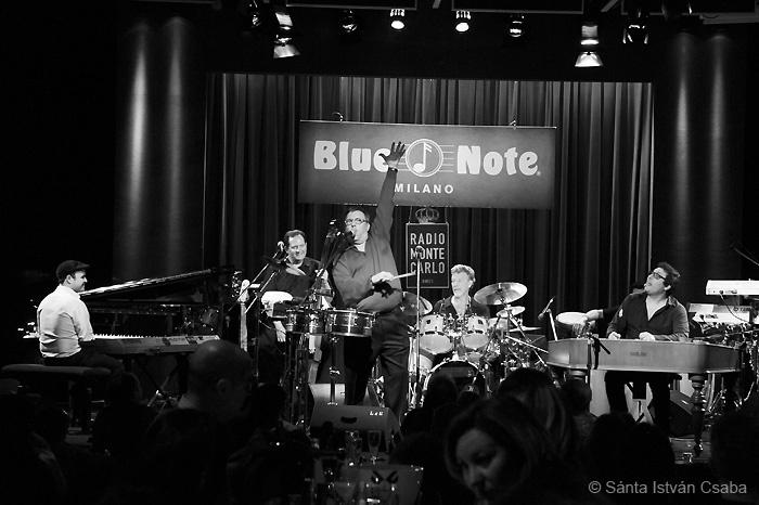 Arturo Sandoval band, Blue Note Milano, Italy, March 2016