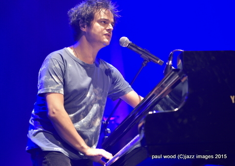 Jamie Cullum, London Jazz Festival, Nov. 2015