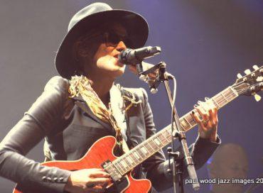 Photos: Singer Melody Gardot at the London Palladium