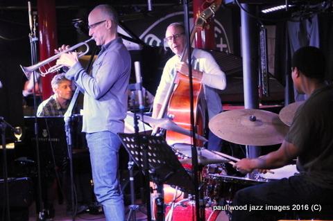 Ralph Alessi Baida Quartet, Pizza Express, London, March 2016