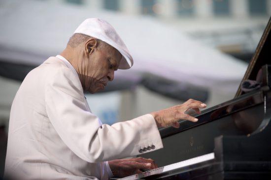 McCoy Tyner, Detroit Jazz Festival 2013 image 4