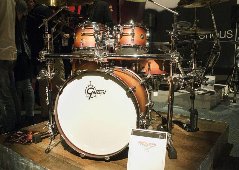 The Gretsch Renown Series drum kit at NAMM 2016