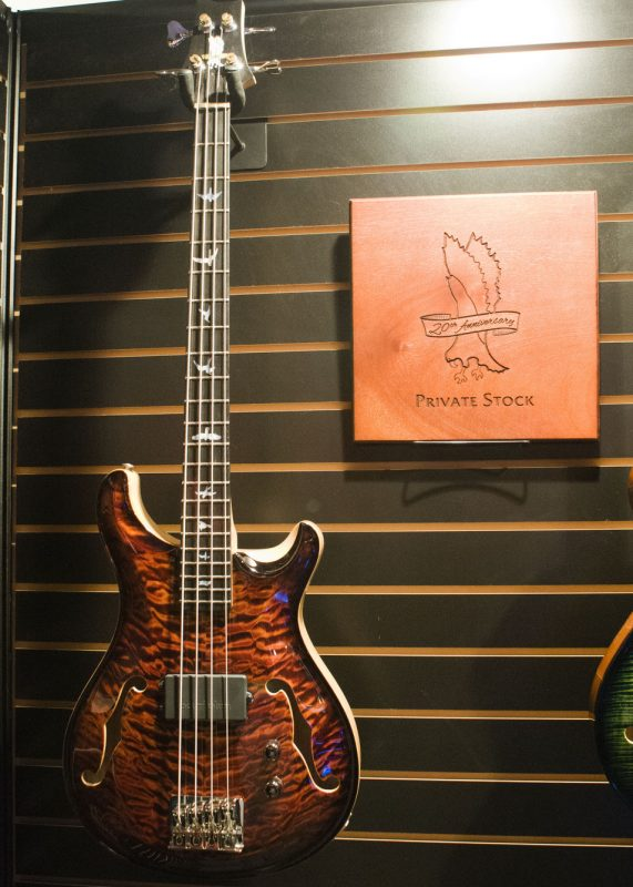 The Private Stock Hollowbody Bass by PRS Guitars, NAMM 2016