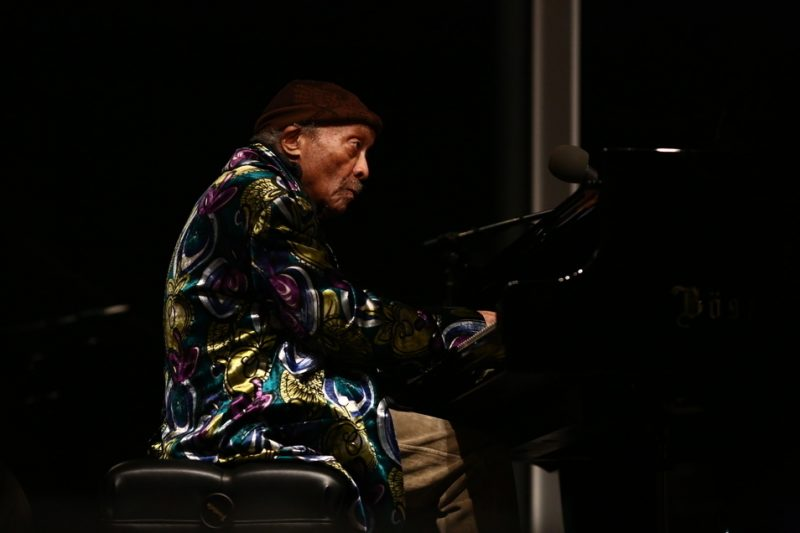 "Cecil Taylor, performance at the Whitney Museum of American Art, April 14, 2016, as part of ""Open Plan: Cecil Taylor,"" April 15–24, 2016"